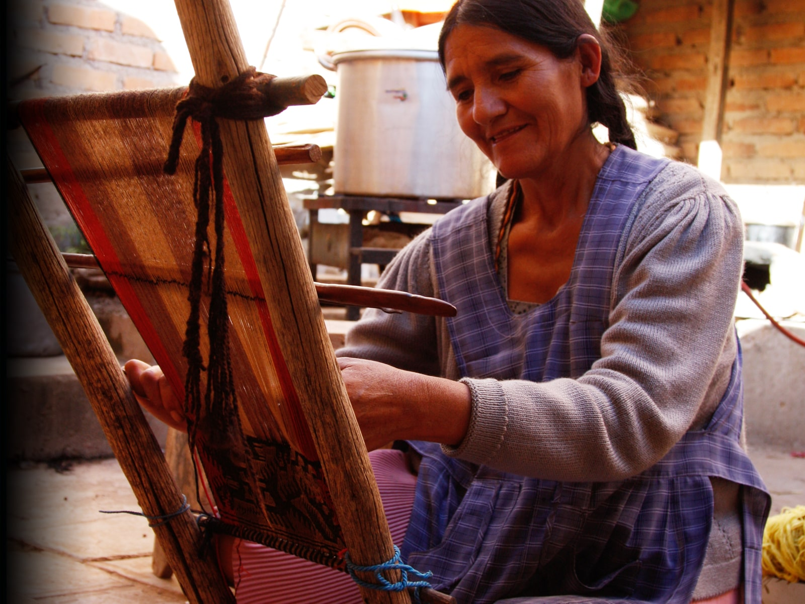 How might we preserve the cultural textile heritage in Sucre, Bolivia?
